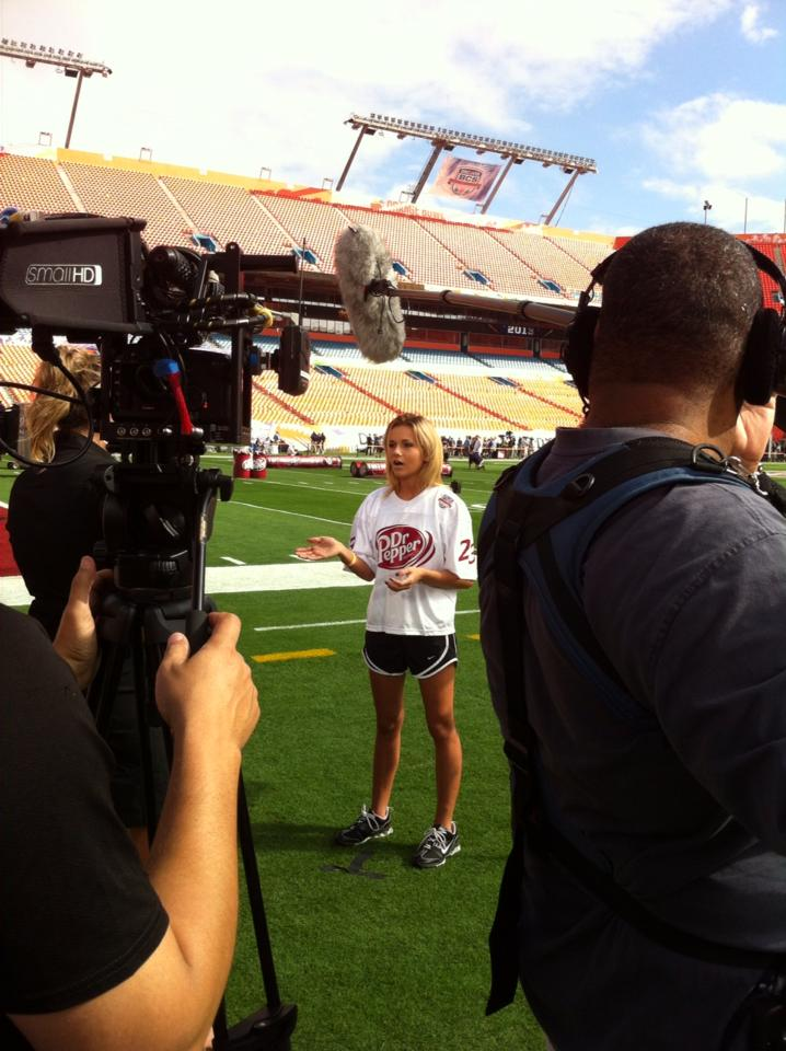 Kelsie-Berg-at-ESPN-BCS-Alabama-Notre-Dame-OU-Sooners-M3-New-Media-Scholarship