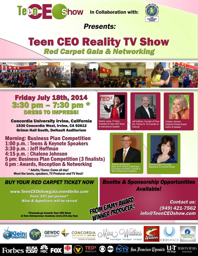 Reality TV Teaches Teens Business - Youth Entrepreneurs as CEO